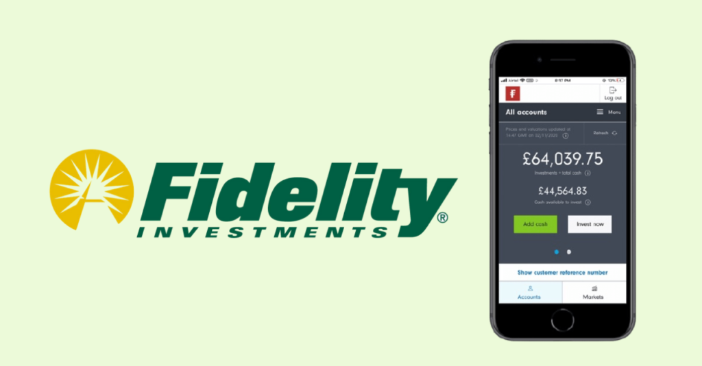 Fidelity   Best stock trading and investment app for beginners